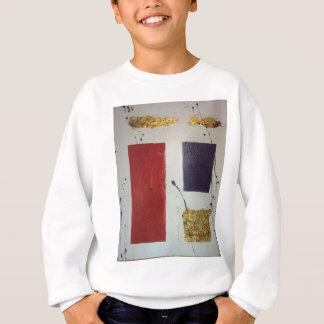 "Abstract Mixed Media Original ""Cosmetic"" Sweatshirt"