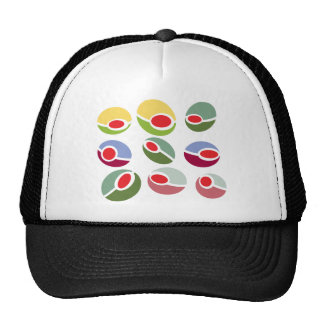 Abstract Mod Olives Cap