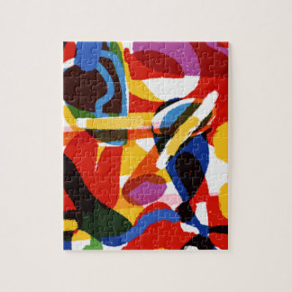 Abstract Mod World Jigsaw Puzzle