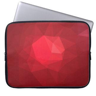 Abstract & Modern Geo Designs - Brave Strength Laptop Sleeve