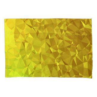 Abstract & Modern Geo Designs - Golden Scales Pillowcase