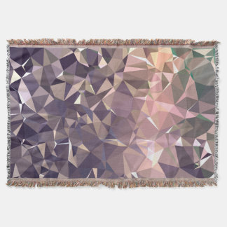 Abstract & Modern Geo Designs - Space Time Throw Blanket