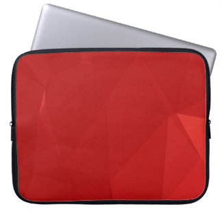 Abstract & Modern Geo Designs - Strawberry Love Laptop Sleeve