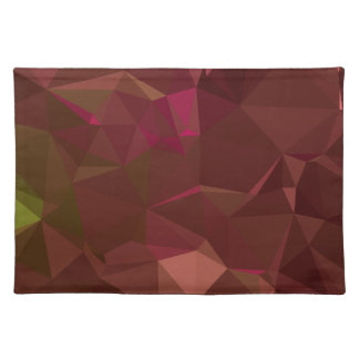 Abstract & Modern Geo Designs - Temple Wood Placemat