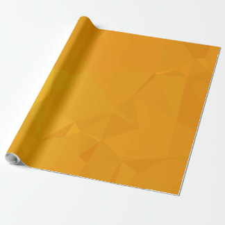 Abstract & Modern Geometric Designs - Citrus Calm Wrapping Paper