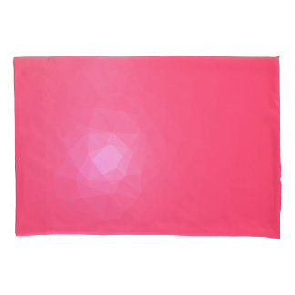 Abstract & Modern Geometric Designs - Dragon Fruit Pillowcase