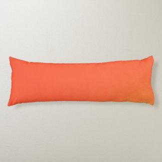 Abstract & Modern Geometric Designs - Fiery Center Body Cushion