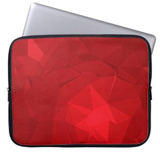 Abstract & Modern Geometric Designs - Lion Heart Laptop Sleeve