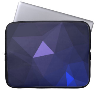 Abstract & Modern Geometric Designs - OceanViolet Laptop Sleeve