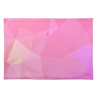 Abstract & Modern Geometric Designs - Orchid Zen Placemat