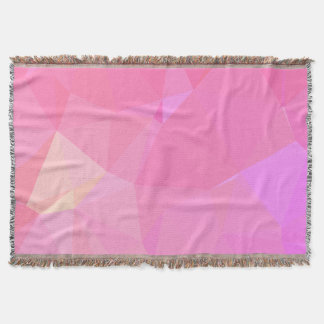 Abstract & Modern Geometric Designs - Orchid Zen Throw Blanket