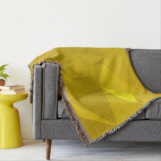 Abstract & Modern Geometric Designs - Royal Sun Throw Blanket
