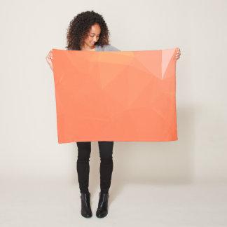 Abstract & Modern Geometric Designs - Wine Talent Fleece Blanket