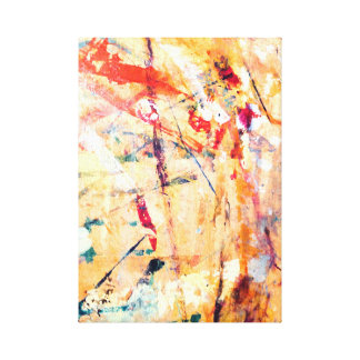 Abstract Modern Hand-Painted Canvas Print