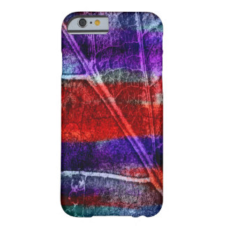 Abstract Modern Leaf Pastel Barely There iPhone 6 Case