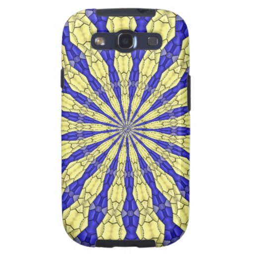 Abstract modern pattern samsung galaxy SIII cover