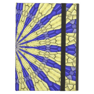 Abstract modern pattern iPad cover