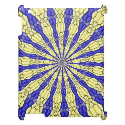 Abstract modern pattern cover for the iPad 2 3 4