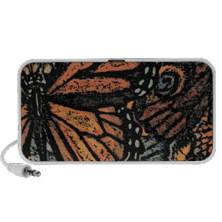Abstract Monarch Butterfly PC Speakers