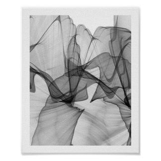Abstract Monochrome Poster | 8x10