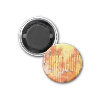 Abstract Monoprint 17025YOS Magnet