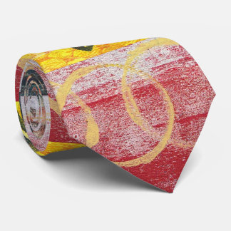 Abstract Monoprint 17025YOS Tie