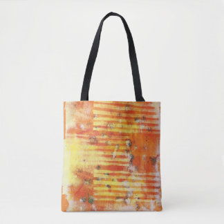 Abstract Monoprint 17025YOS Tote Bag