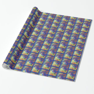 Abstract Mood Wrapping Paper