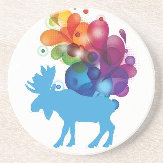 Abstract Moose Coaster