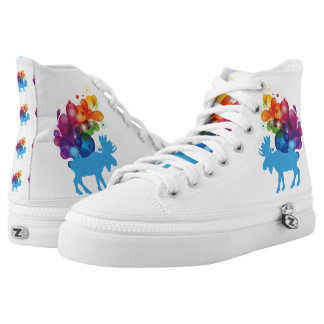 Abstract Moose Shoes
