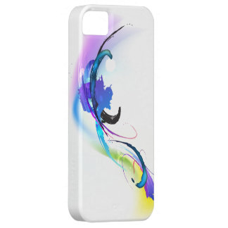 Abstract Morning Glory Paint Splatters iPhone 5 Case