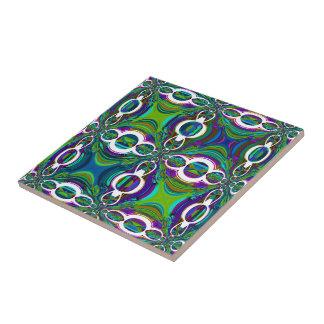 Abstract Moroccan  Design Tile