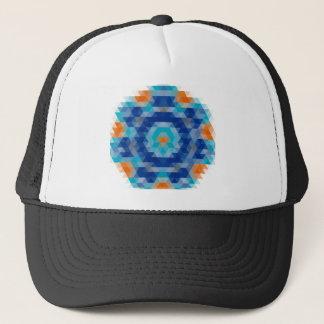 Abstract Mosaic Design Trucker Hat