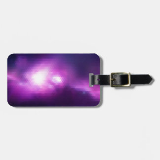 Abstract Mosaic Nebulla with Galactic Cosmic Cloud Luggage Tag