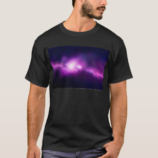 Abstract Mosaic Nebulla with Galactic Cosmic Cloud T-Shirt