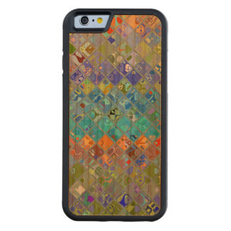 Abstract Mosaic Pattern Cherry iPhone 6 Bumper