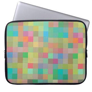 Abstract Mosiac Laptop Sleeve