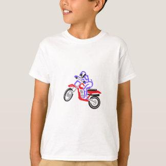 Abstract MotorCycle T-Shirt