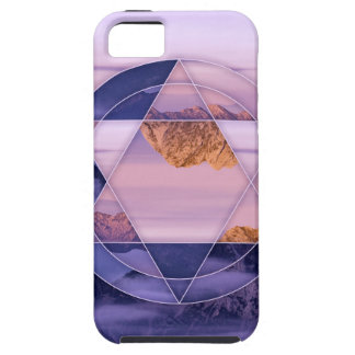 Abstract mountain landscape case