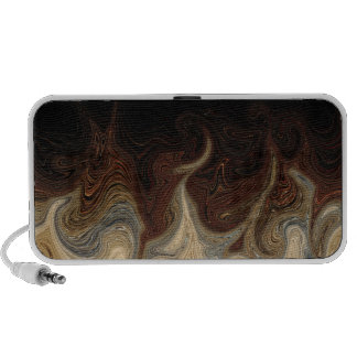 abstract mp3 accessory doodle  speaker