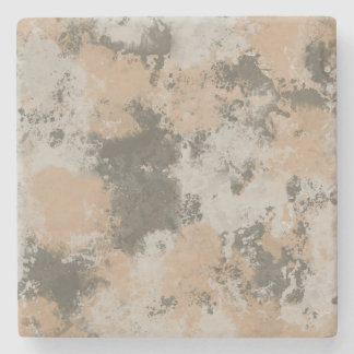 Abstract Mud Puddle Stone Coaster