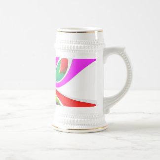 abstract coffee mugs