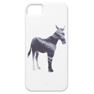Abstract Mule silhouette iPhone 5 Covers
