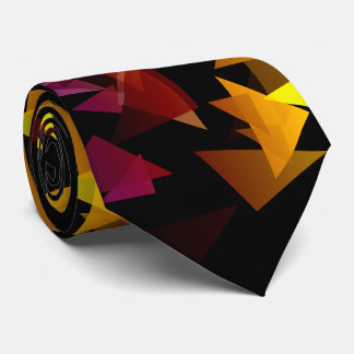 Abstract Multi-Colored Confetti Tie