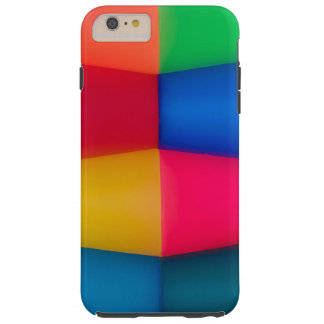 Abstract Multi Coloured Background Tough iPhone 6 Plus Case