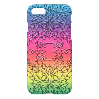 Abstract Multicolor Custom iPhone 7 Glossy Case