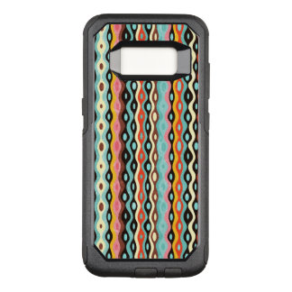 Abstract multicolor pattern OtterBox commuter samsung galaxy s8 case
