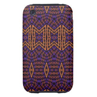 Abstract multicolored pattern iPhone 3 tough case