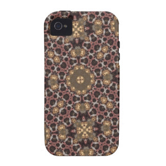 Abstract multicolored pattern iPhone 4 cover