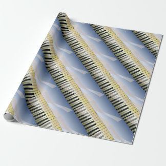 Abstract Music Background Wrapping Paper